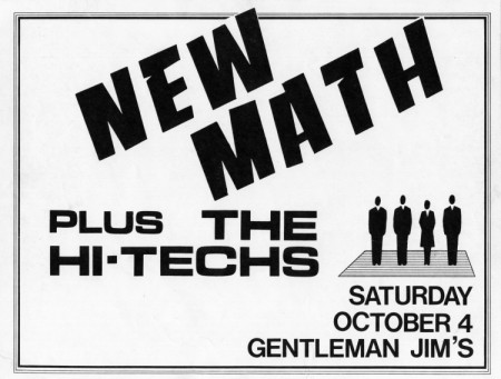 New Math and Hi-Techs at Gentlemen Jims
