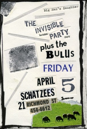 Invisible Party w/ the Bulus at Schatzees