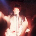 Johnny Thunders at Scorgies - Photo by J. Laben