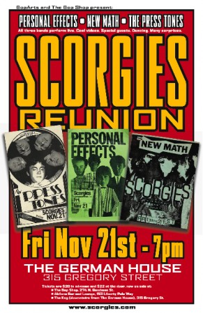 Scorgies Reunion Poster by Bob Martin